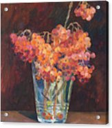 Autumn Bouquet Of Ashberries Acrylic Print