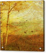 Autumn Breeze Acrylic Print