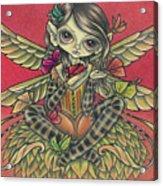 Autumn Butterflies Acrylic Print
