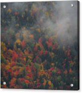 Autumn Colors In The Clouds Acrylic Print