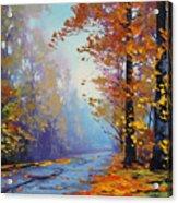 Autumn Colours Acrylic Print by Graham Gercken