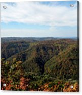 Autumn Comes To The Mountains 3 Acrylic Print