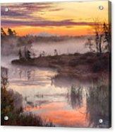 Autumn Dawning Acrylic Print