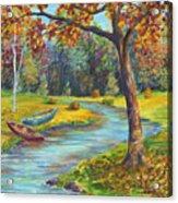 Autumn Daze Splendor  Acrylic Print