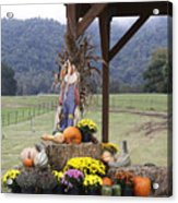 Autumn Display Acrylic Print