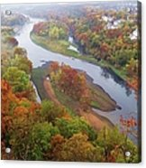 Autumn Down Below Acrylic Print