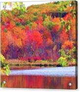 Autumn East Coast I Acrylic Print