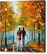 Autumn Elegy Acrylic Print