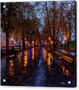 Promenade In Odessa Acrylic Print