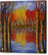 Autumn. Acrylic Print