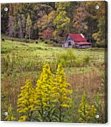 Autumn Fields Acrylic Print