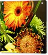 Autumn Flower Arrangement Acrylic Print