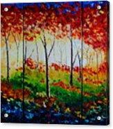 Autumn Glade Acrylic Print
