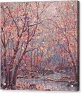Autumn Harmony. Acrylic Print