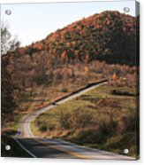 Autumn Hill Near Hancock Maryland Acrylic Print