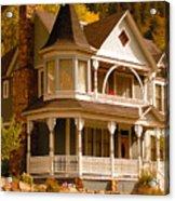 Autumn House Acrylic Print