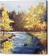 Autumn Impressions Acrylic Print