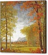 Autumn In America Acrylic Print
