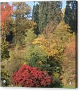 Autumn In Baden Baden Acrylic Print