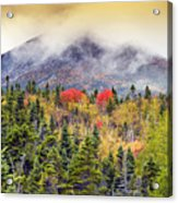 Autumn In Baxter State Park Maine Acrylic Print
