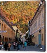 Autumn In Brasov Acrylic Print