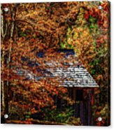 Autumn In Cades Cove Smnp Acrylic Print
