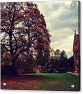 Autumn In Cambridge  Acrylic Print