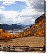 Autumn In Colorado Acrylic Print