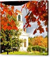 Autumn In Gilmanton Acrylic Print by Robert Clifford