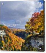 Autumn In Letchworth Acrylic Print