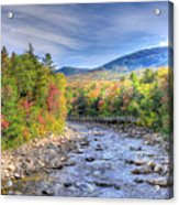 Autumn In New Hampshire Acrylic Print