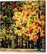 Autumn In Olde Virginia Acrylic Print