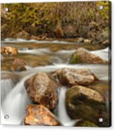 Autumn In Provo Canyon Acrylic Print