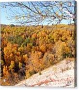 Autumn In Riding Mtn National Park Acrylic Print
