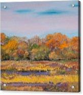 Autumn In The Adirondack Mountains Acrylic Print