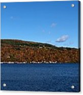 Autumn In The Finger Lakes Acrylic Print