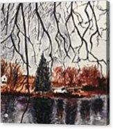 Autumn in Upstate Acrylic Print