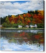Autumn In Vermont  Acrylic Print