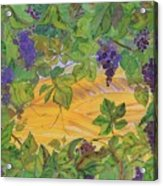 Autumn In Wine Country Acrylic Print by Carolyn Doe