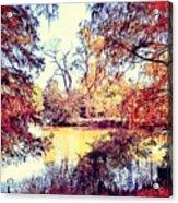 Autumn Island Acrylic Print