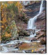 Autumn Kaaterskill Falls Square Acrylic Print