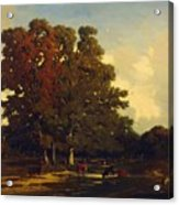 Autumn Landscape 1850 Acrylic Print