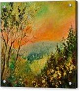 Autumn Landscape 5698 Acrylic Print