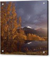 Autumn Landscape Near Telluride Acrylic Print