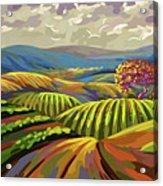 Autumn Lanscape Acrylic Print