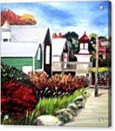 Autumn Lighthouse Miramichi New Brunswick Canada Acrylic Print