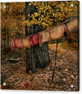 Autumn Linens Acrylic Print