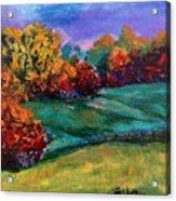 Autumn Meadow Acrylic Print