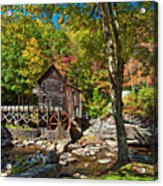 Autumn Mill 2 Acrylic Print