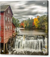 Autumn Mill Acrylic Print